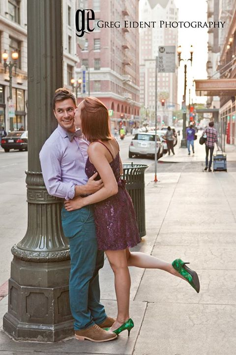 creative engagement photo shoots downtown los angeles