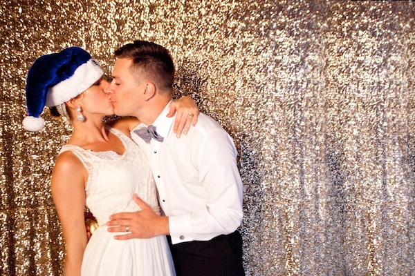 meadows events sequin backdrop photo booth for wedding
