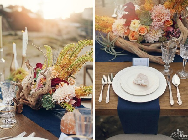 summer party, beach wedding tablescape