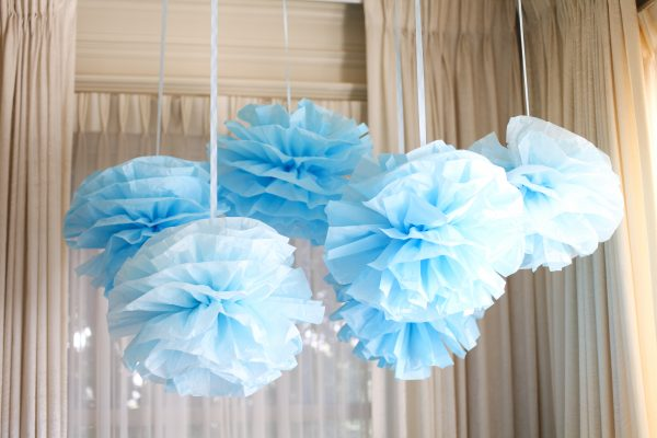 los angeles baby shower decor ideas