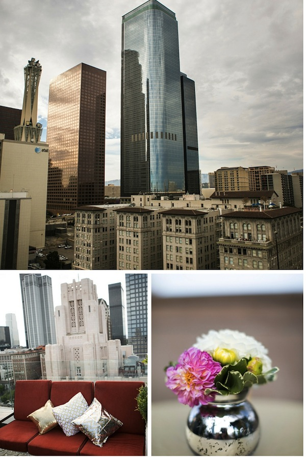 Perch Los Angeles Wedding Reception Details