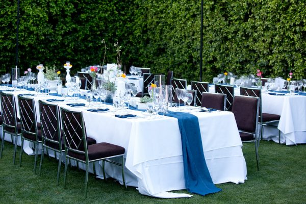 Wedding Reception Decor | Parker Palm Springs | Meadows Events