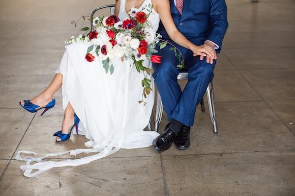 red white blue wedding color pallette_honey pot venue