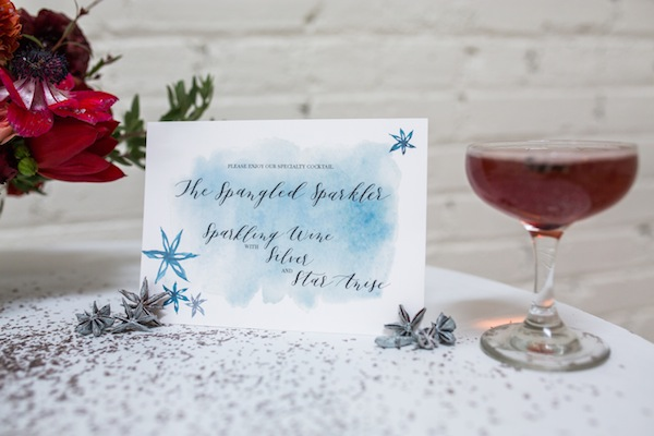 signature drink 4th of july wedding ideas